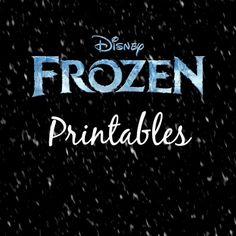 frozen-printables