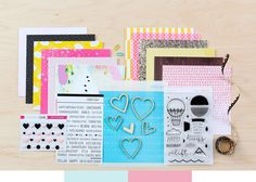 Cirque Card Kit at @studio_calico // In a Creative Bubble Stamp Set