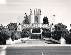 National Register #73002250  Alhambra Theatre  1101 Alhambra Boulevard  Sacramento  Built 1927  Razed 1973 The Alhambra Theater, designed in the Moorish style by architect Leonard Starks, opened in 1927 and was so splendid that Sacramento changed the name of 31st Street to Alhambra Boulevard.