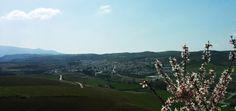 View of Alhama de Granada, spring 2014