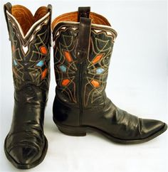 vintage cowboy boots | Awesome vintage cowboy boots