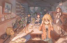 Anime - Kyoukai No Kanata  Wallpaper