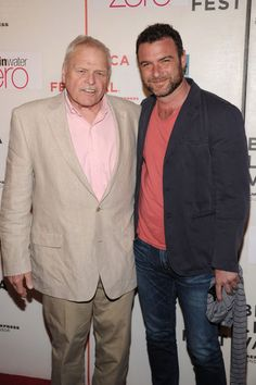 """Actors Brian Dennehy and Liev Schreiber attend the premiere of """"Every Day"""" during the 2010 Tribeca Film Festival at the Tribeca Performing Arts Center on April 24, 2010 in New York City."""