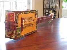 Cigar Box Ukulele by BarefootBoogieGuitar on Etsy, $240.00