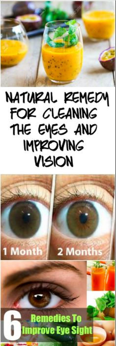 Natural Remedy For Cleaning Eyes & Improving Vision!!! - Way to Steal Healthy #improvevisionnaturally