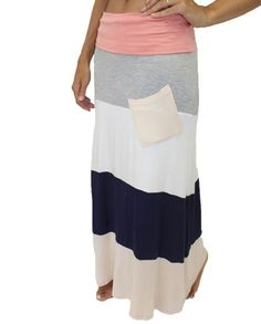 Maxi Skirt with Pocket