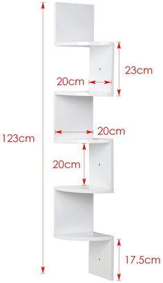 Diy Home Decor Projects, Home Decor Furniture, Furniture Projects, Furniture Design, Home Decor Shelves, Wall Shelf Decor, Home Office Decor, Corner Shelf Design, Wall Shelves Design