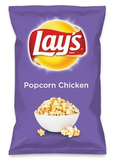 Wouldn't Popcorn Chicken be yummy as a chip? Lay's Do Us A Flavor is back, and the search is on for the yummiest flavor idea. Create a flavor, choose a chip and you could win $1 million! https://www.dousaflavor.com See Rules.