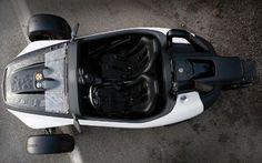 volkswagen gx3 reverse trike concept