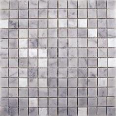 Carrara Polished Polished Marble Mosaic Tiles Natural Stone Mosaic Tiles