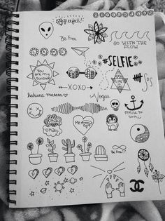 I have a doddle book most of them are weird aliens or teddy bears