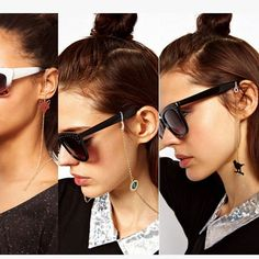 Aliexpress.com : Buy Fashion Mini Asuka Evil eye Elephant cross Sunglasses deco lanyard eyeglass cords chains For glasses accessories from Reliable lanyard stitches suppliers on urban neighbor