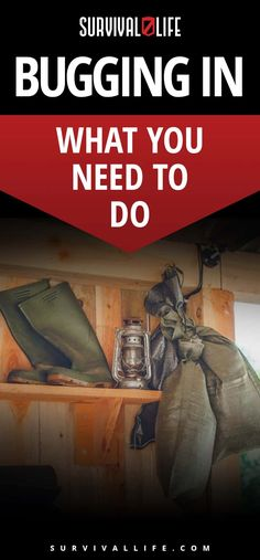 Bugging In | What You Need To Do