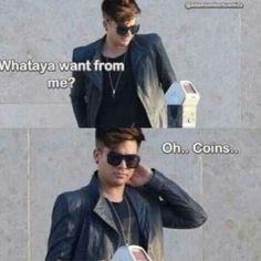 Everybody wants something from Adam Lambert...even a parking meter :D | Source: AdamLambertComics