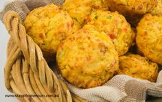 Bulk Savoury Muffin Recipe.  These look and sound DELICIOUS!  A healthier choice too.