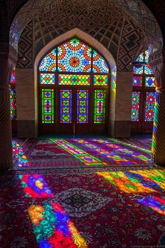 Architecture Discover Nasir-ol-molk Mosque in Shiraz Iran - PintoPin Persian Architecture Mosque Architecture Beautiful Architecture Beautiful Buildings Shiraz Iran Stained Glass Art Stained Glass Windows Persian Culture Beautiful Mosques Art Et Architecture, Persian Architecture, Mosque Architecture, Beautiful Architecture, Beautiful Buildings, Beautiful Mosques, Cultural Architecture, Stained Glass Art, Stained Glass Windows