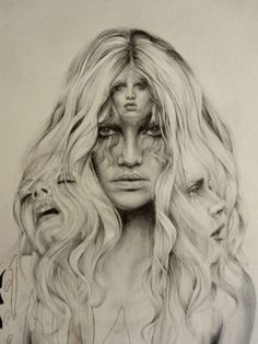 beautiful tonal drawing