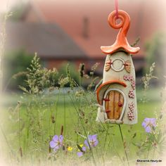 Fairy Houses, Bird Feeders, Home And Garden, Pottery, Christmas Ornaments, Holiday Decor, Outdoor Decor, Mushrooms, Home Decor
