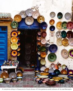 Essaouira Souk. Top 8 things to do in Essaouira, Morocco. Vogue Living AU, Sept/Oct 2013