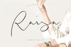 Raisa Script - Logo