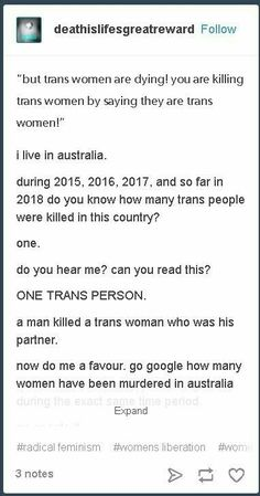 Boom. Terf me up if ya want but facts are facts.