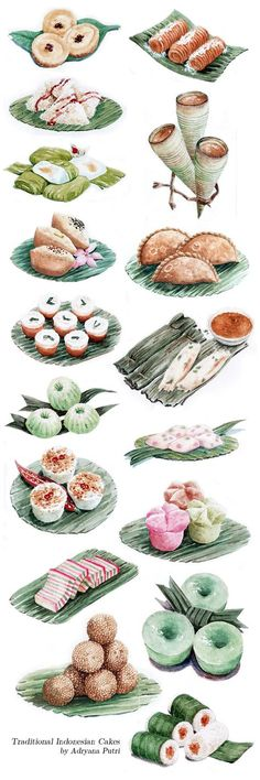 Indonesian Traditional Cakes for Sari Sari