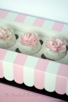 Decorative Cupcake Boxes Pink Easy Removal Cupcake Box  Paper Mart  Videos  Pinterest
