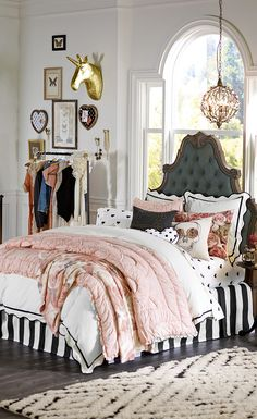Parisian Headboard $699 – $899 Visit bit.ly/emilyandmerittforpbteen Or call 1-866-472-4001 to pre-order this item.
