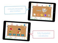 Teach Me Apps: English for Kids | www.teachmeapps.net App Design, Vocabulary, Apps, English, Teaching, App, English Language, Learning, Application Design