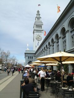 Market-hop and then be the first to grab a seat at the bar at Slanted Door for dinner at San Francisco's Ferry Building.