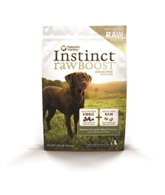 Nature's Variety Instinct Raw Boost Grain Free Venison and Lamb Meal Formula Dry Dog Food, 23.5 lb. Bag * Insider's special review you can't miss. Read more  : Dog food types