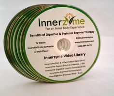 Innerzyme's New Educational Enzyme DVD Has Arrived! If you are looking to improve your overall health, it may be time to explore the benefits of enzyme therapy! http://www.innerzyme.com/  #healthtalk #enzymes #health #supplements #digestive_enzymes #systemic_enzymes #enzyme_video_library #enzymetherapy