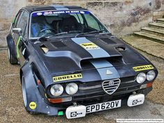 Alfa Cars, Alfa Romeo Cars, Alfa Gtv, Alfa Romeo Gtv6, Rally Car, Car Photography, Courses, Cars And Motorcycles, Classic Cars