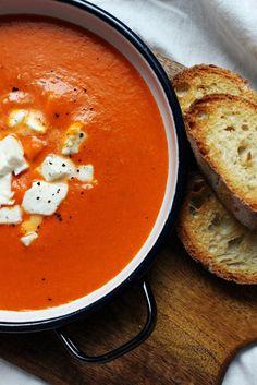 Tomatensuppe für den Spätsommer