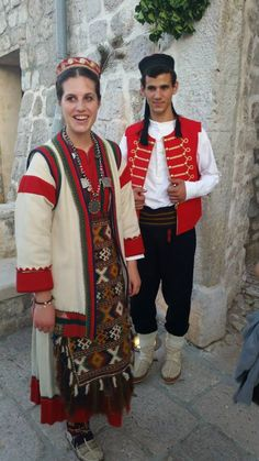 Polača, Northern Dalmatia Ethnic Clothes, Ethnic Outfits, Folk Costume, Costumes, European Clothing, Old World Style, Heartstrings, Serbian, Ethnic Fashion