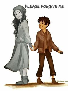 How to kill a pjo fan: edit a picture of nico and Bianca so Bianca is b&w. Add words like I'm sorry, not today, or forgive me. Congrats, you killed a pjo fan!