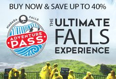 Niagara Falls Adventure Pass. The Ultimate Falls Experience Save up to 40%