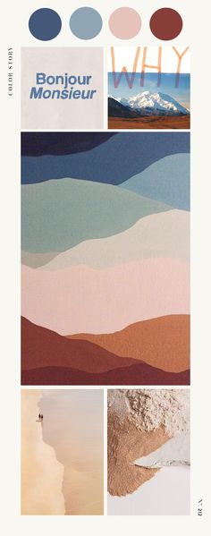 Color Story and mood board by Design Quixotic. Shopping in color: Rugs.