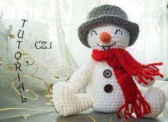 Bałwanek na szydełku. Część 1. Crochet snowman, part 1. Amigurumi