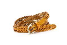 1.5cm wide plait leather belt.  #Abbacino #Summerinthecity #SS15
