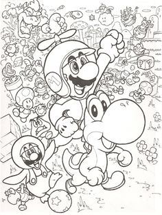 free super mario brothers coloring pages things to do with the