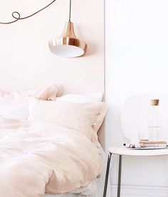 bedroom goals on point  who else would love to live in this baby pink abode? #bedroominspo #decor #kristinaleannestyle