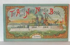 Army and Navy Needle Book..purchased this book and another Army Navy Needle Book at an estate sale this weekend both with the needles for 50 cents.  Really cool.