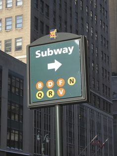 The subway lines in Herald Square