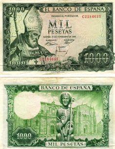 """Yo fuí a EGB.Recuerdos de los años 60 y 70.Historia de """"la peseta"""".Las monedas y billetes españoles de los años 60 y 70"""