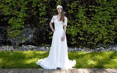 Caroline Takvorian, robe Charlotte - Mariagea Blog