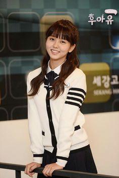 school 2015 who are you korean drama Cute Korean, Korean Girl, Asian Girl, Korean Actresses, Korean Actors, Korean Beauty, Asian Beauty, Korean Celebrities, Celebs