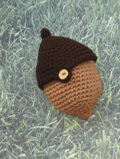 PDF Crochet Pattern  The Two Acorn Bag by AmazonCreations on Etsy, $3.00
