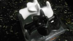 Black and White Schnauzer  Salt & Pepper - NIB!!