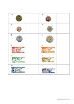 philippine money coins and bills worksheets